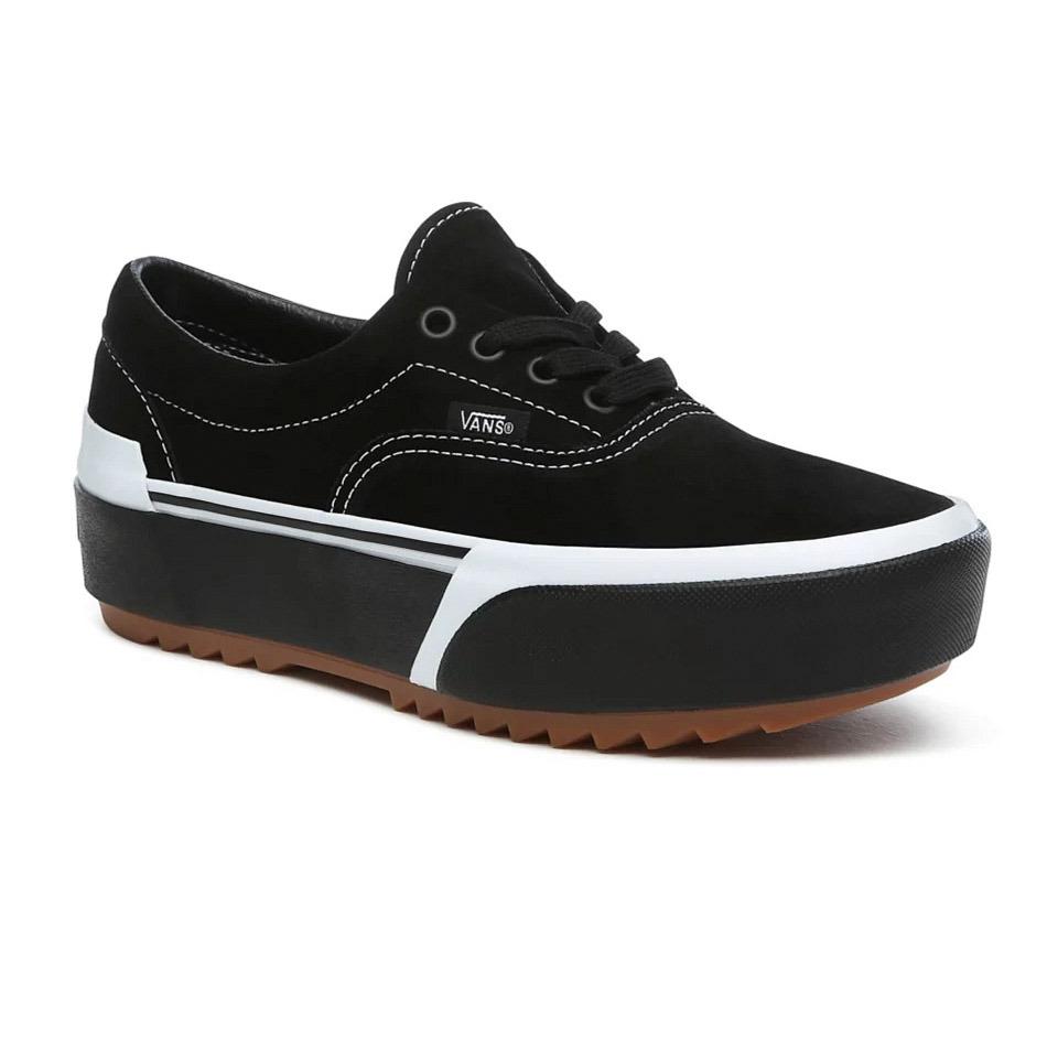 Vans Era Stacked Suede Black