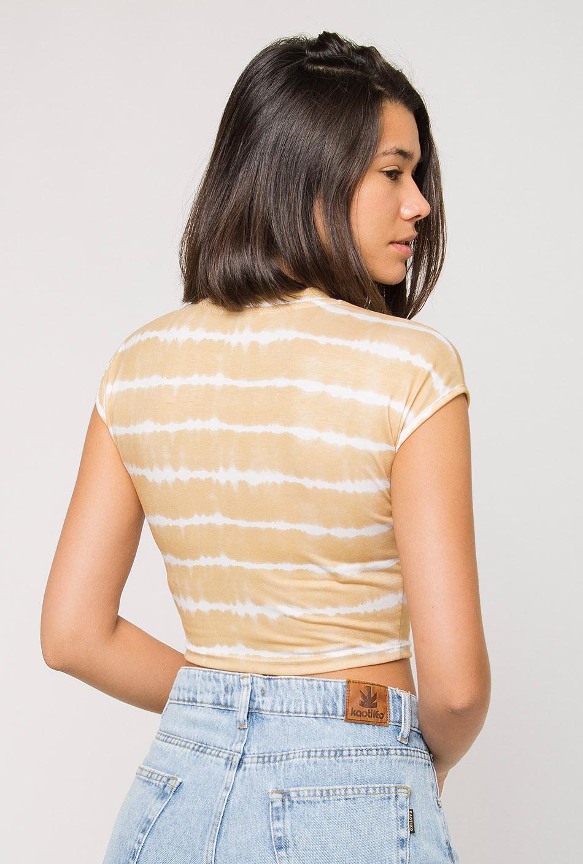 Crop Top Gillian Tie Dye Yellow