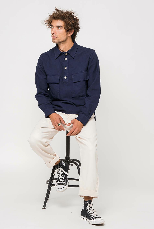 Camisa Bruno Navy