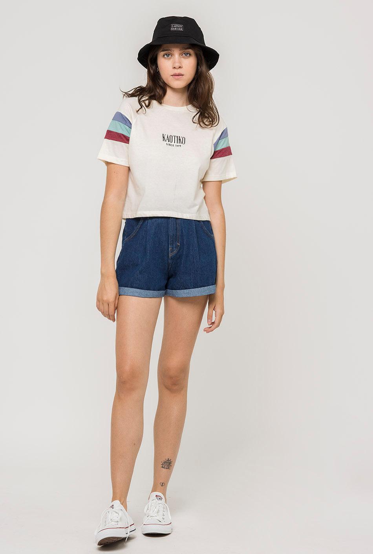 Camiseta Maya Crudo