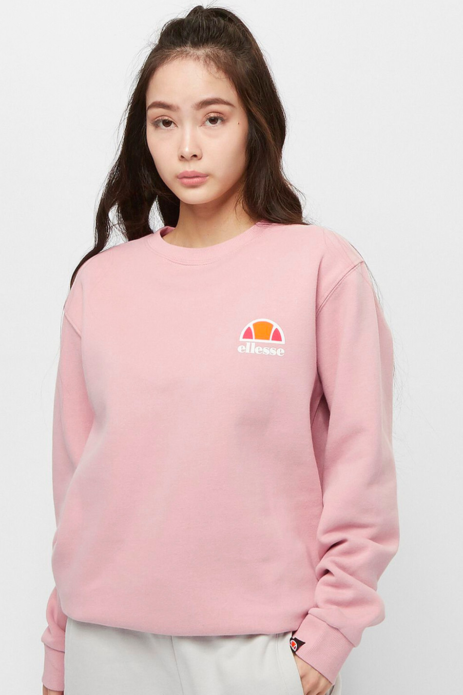 Ellesse Ashburton Sweatshirt Light Pink