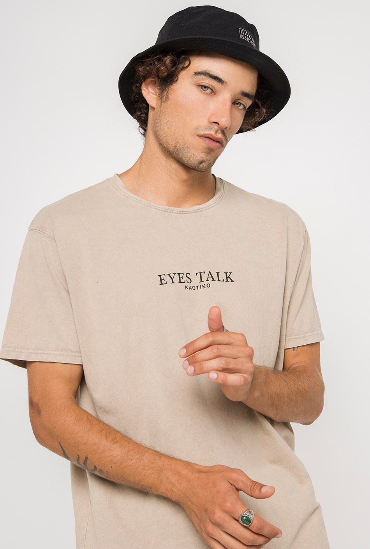 Tie Dye Eyes Talk T-Shirt