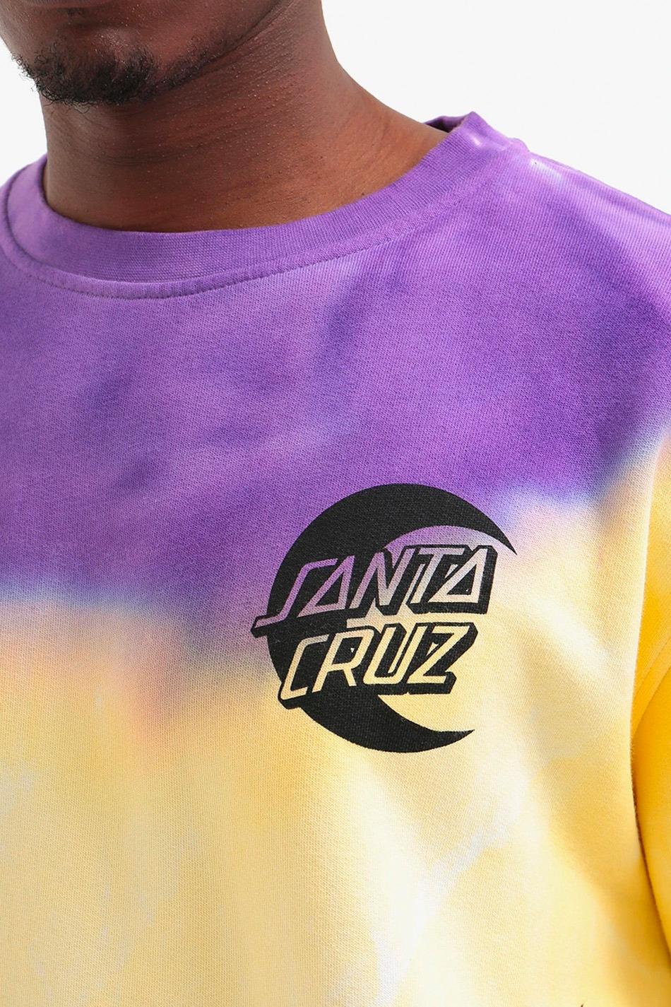Santa Cruz Crew Moon Dot Yellow/Purple