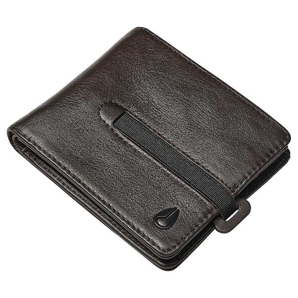 Nixon wallet SPIRE II BI-FOLD BROWN