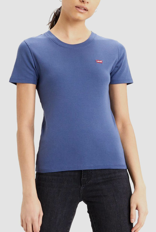 Camiseta Levi's Rib Baby Blue