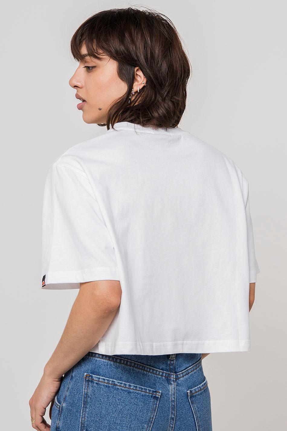 Camiseta Fireball Cropped white