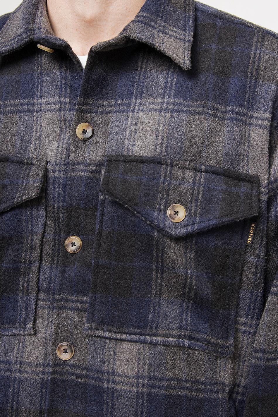 CamisaTartan Blue