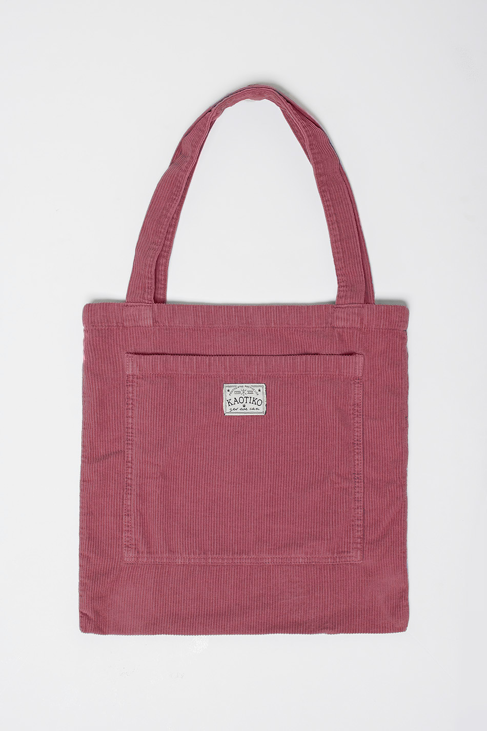 Tote Bag Corduroy Burgundy
