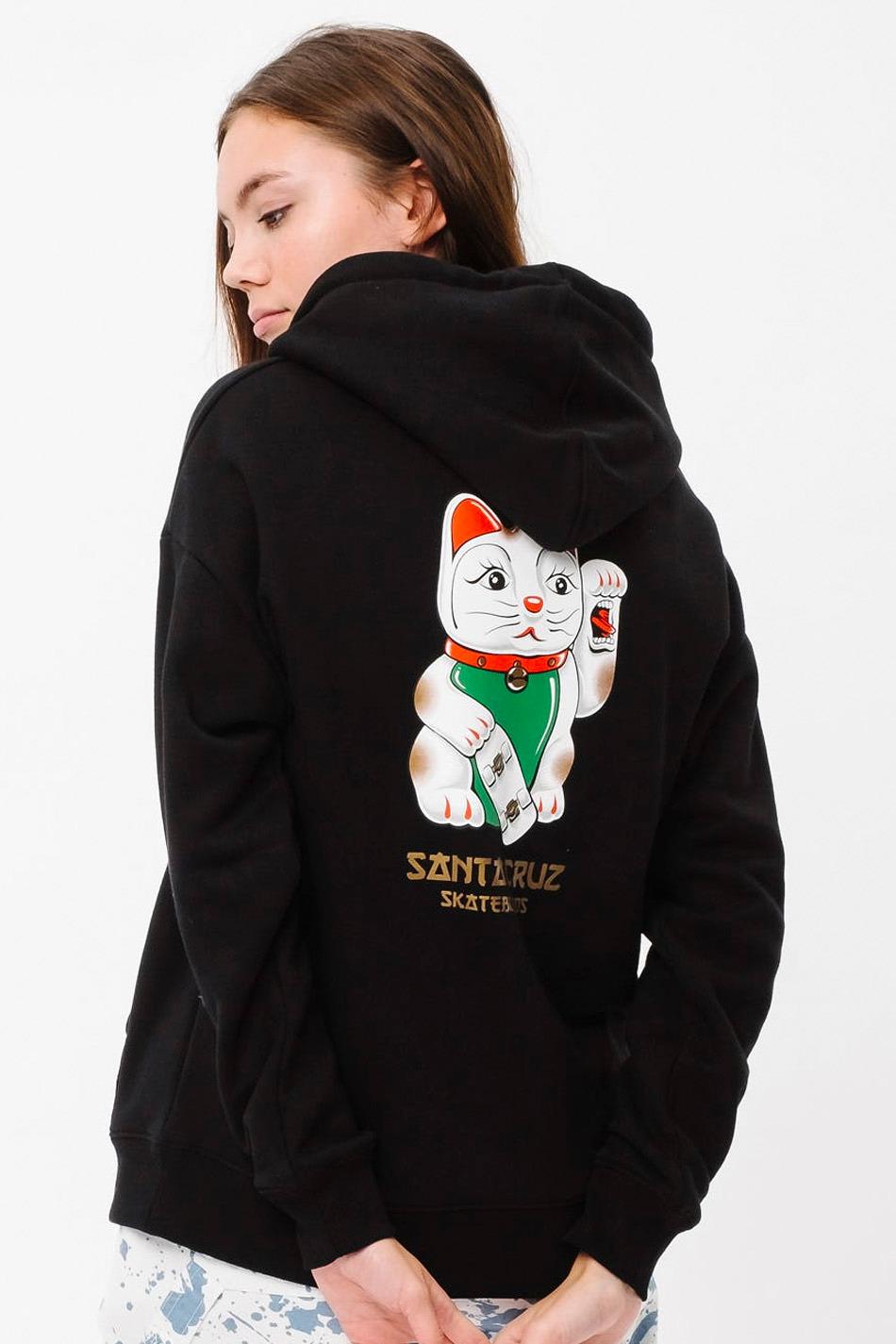 Santa Cruz Lucky Cat Hoodie