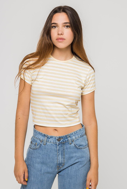 Camiseta Rayas Amarillo