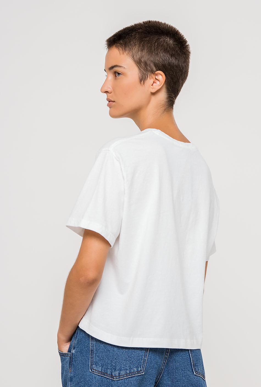 Camiseta Rose Blanca