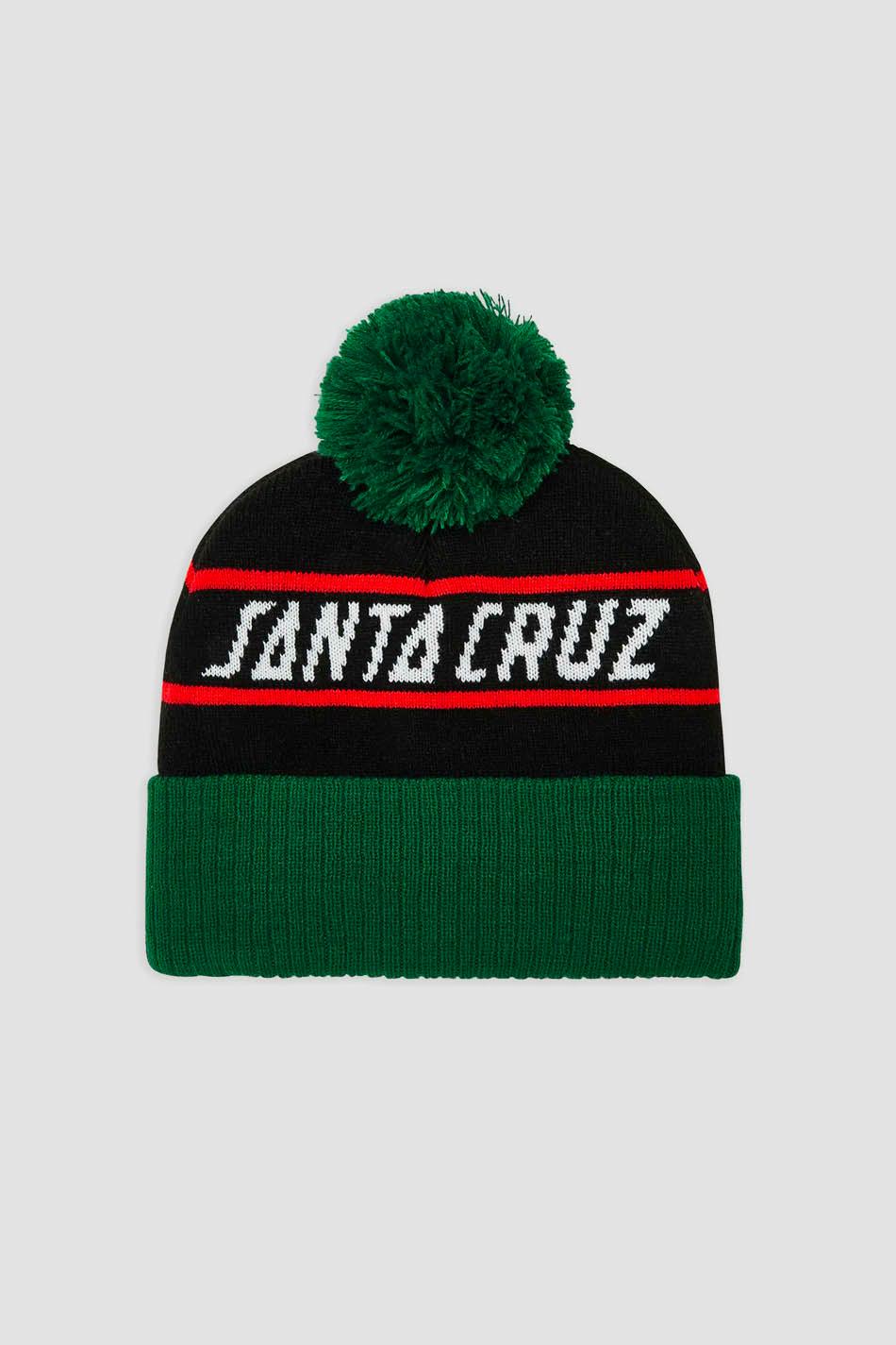 Santa Cruz immer grüne Mütze
