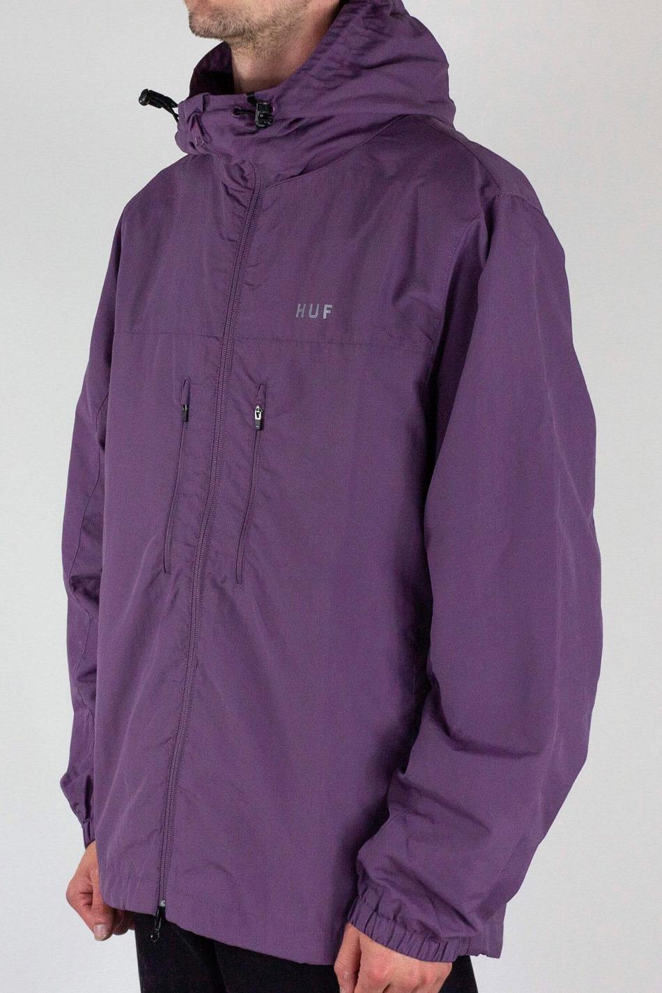 Huf Essentials Zip Violet Jacket