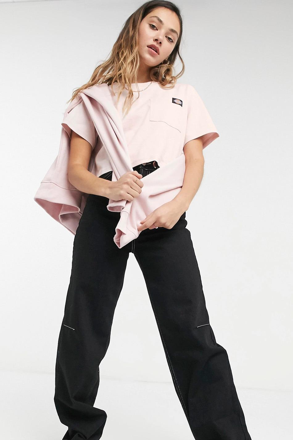 Dickies Ellenwood Tee light Pink T-shirt