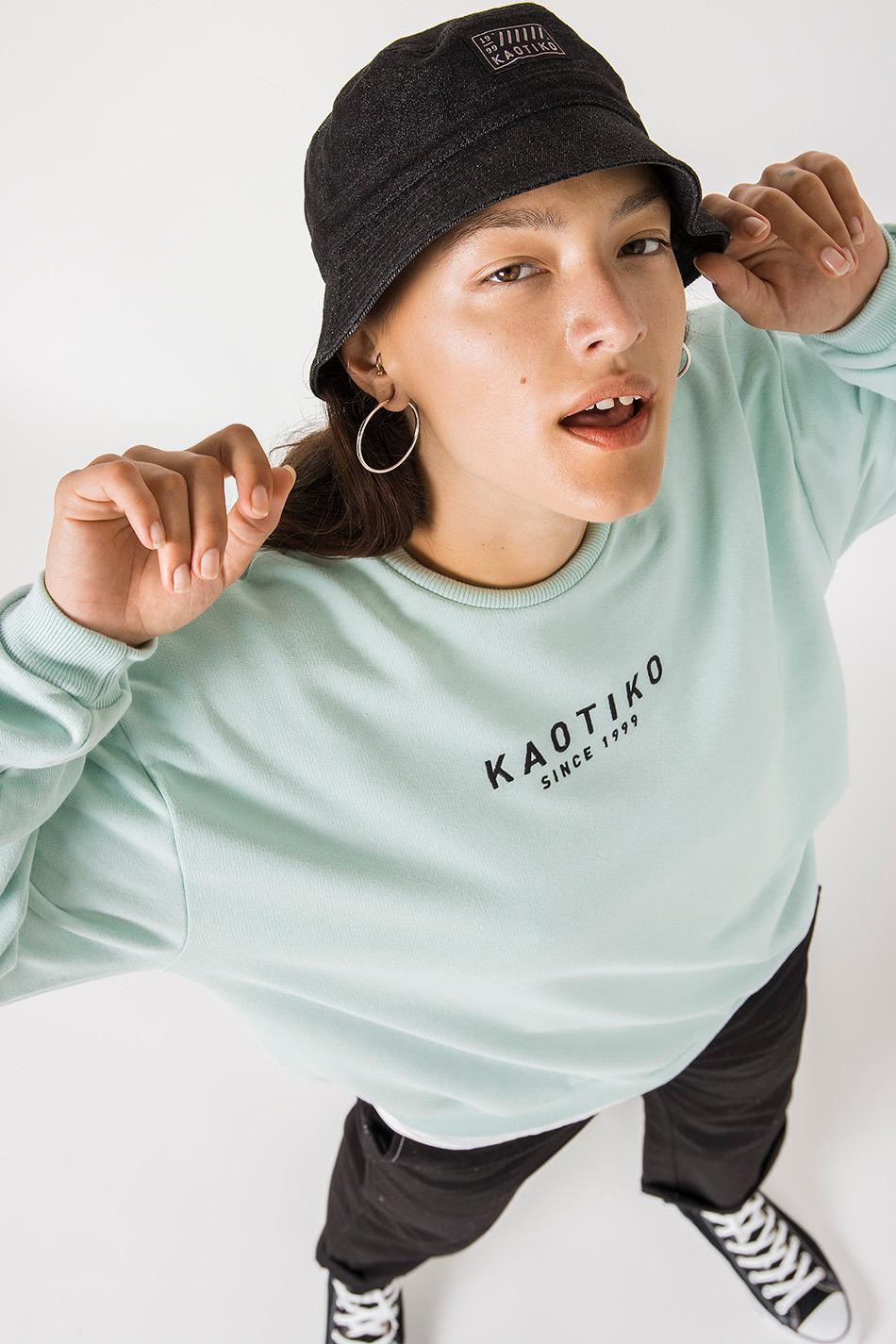 Abby aqua sweatshirt