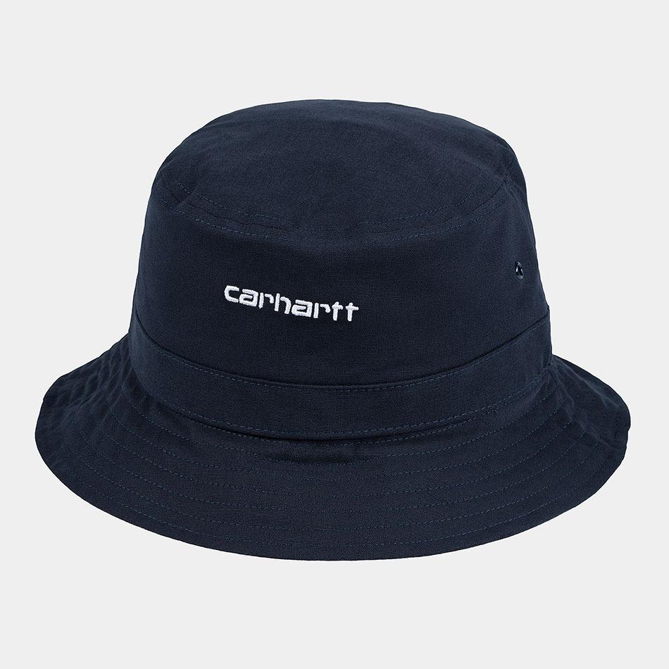 Script Bucket Carhartt Dark Navy/White