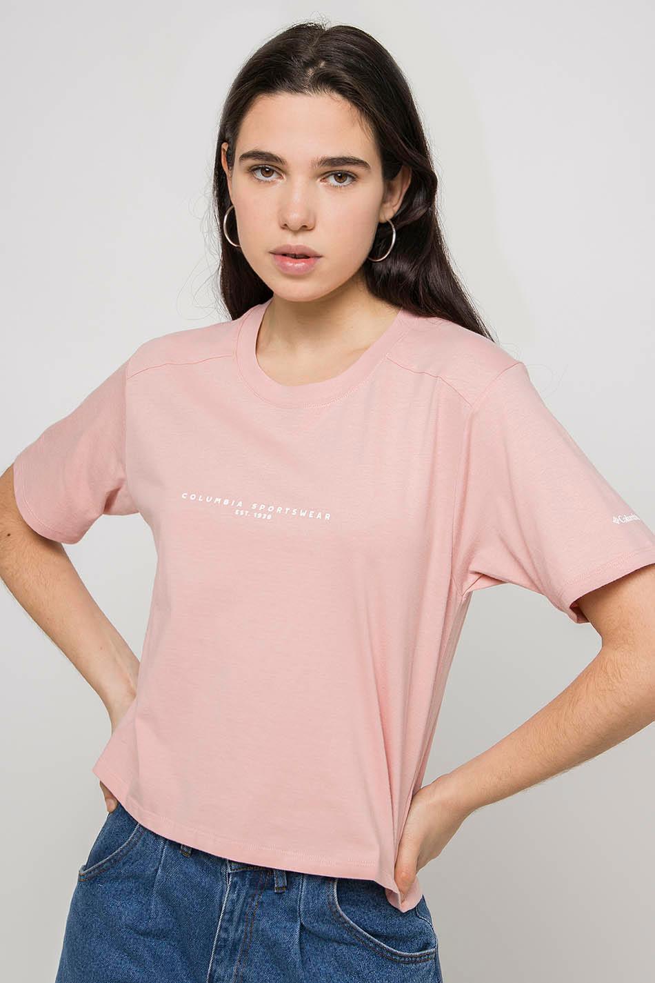 Columbia Park Box Pink T-shirt