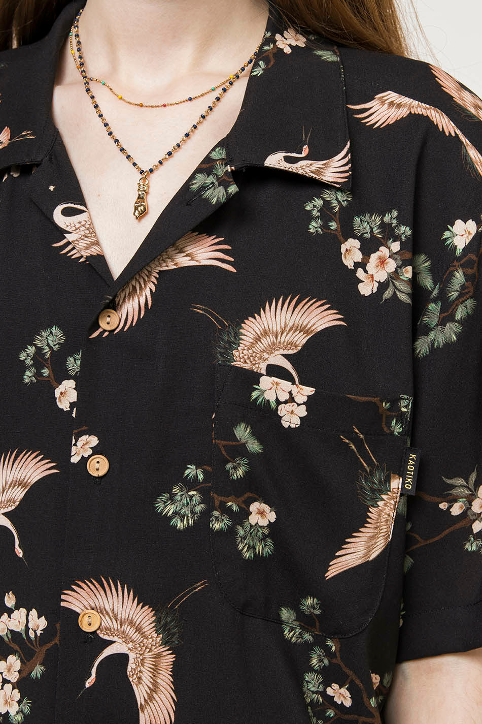 Camisa Kyoto Black
