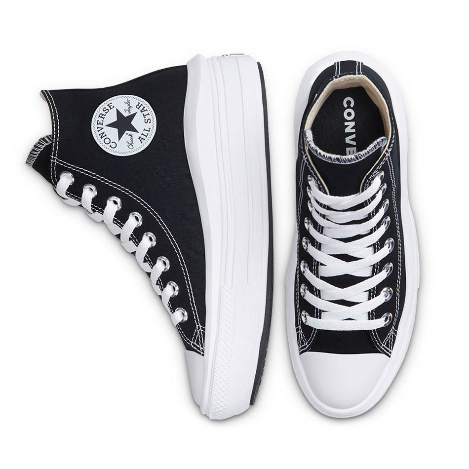 Zapatillas Converse Chuck Taylor All Star Move High Top Negras