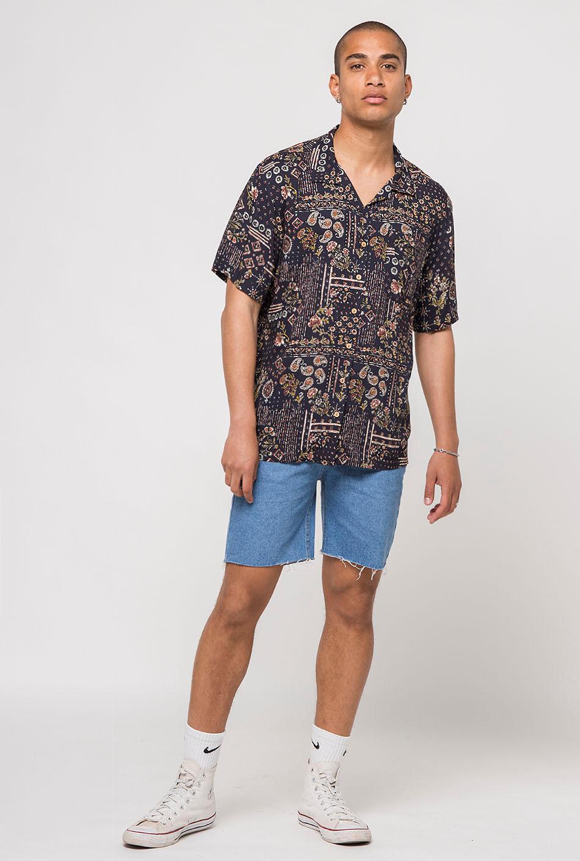Camisa Mumbai Negra