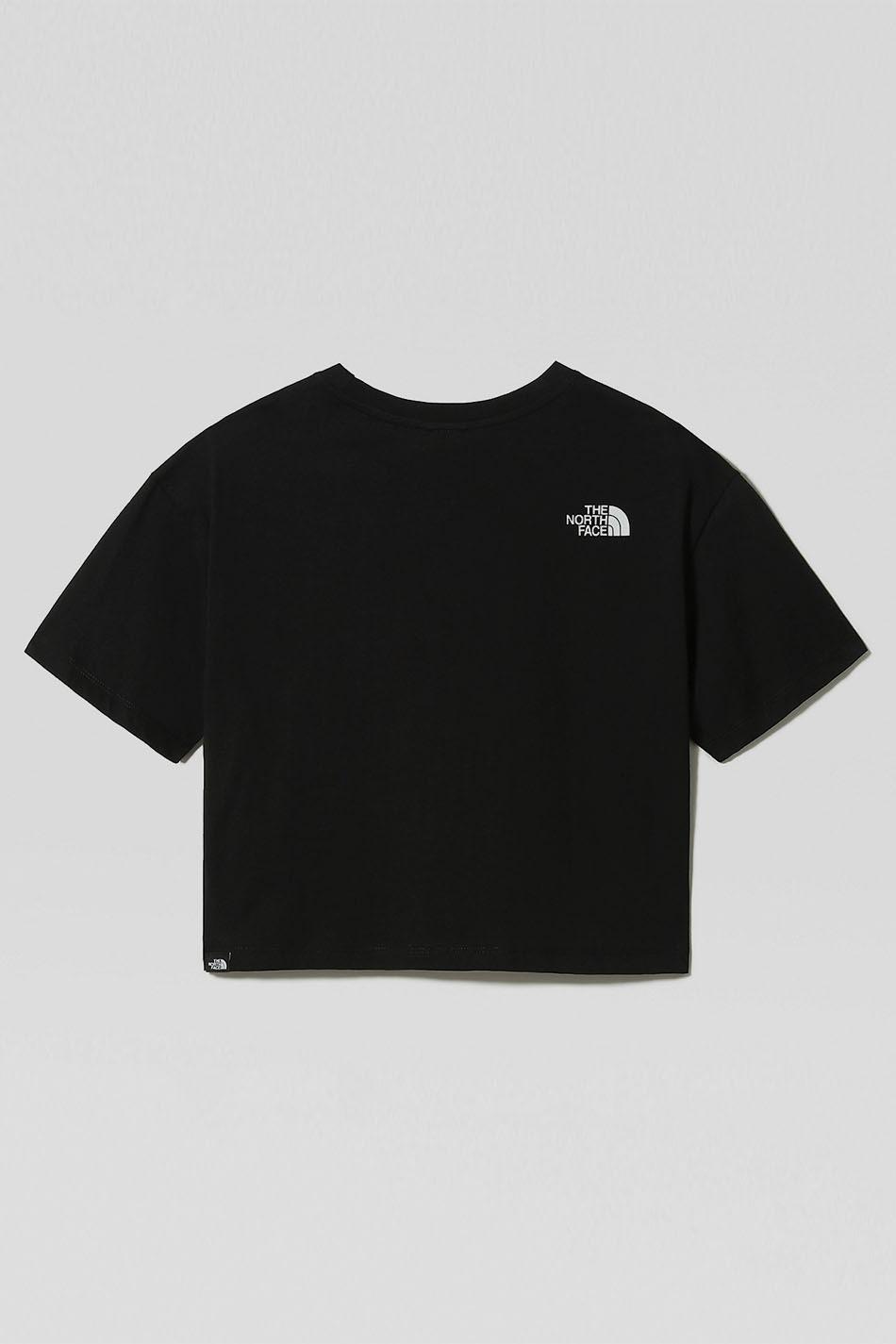 The North Face Crop Fine BlackT-Shirt