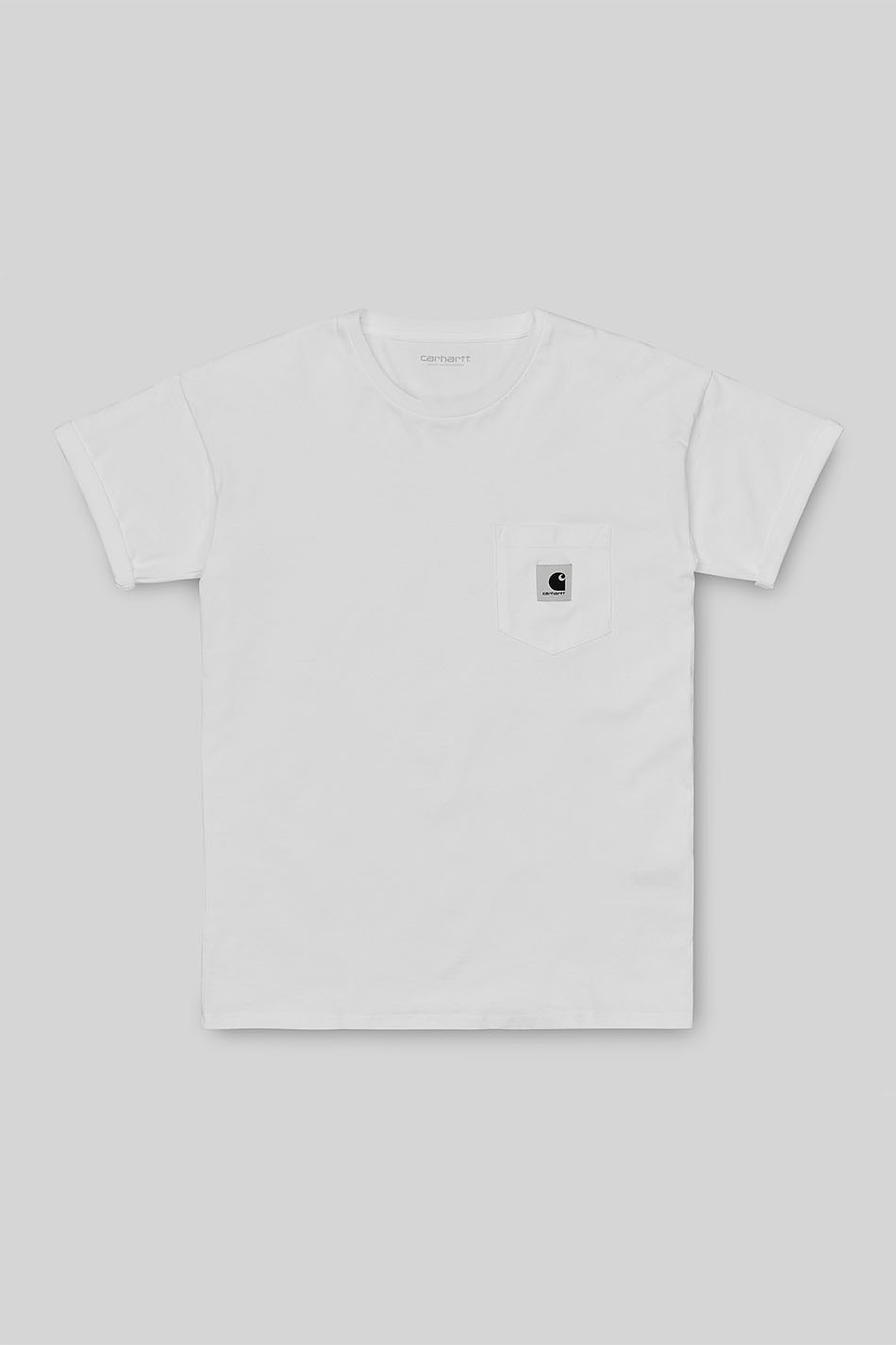 Samarreta Carhartt de butxaca blanca