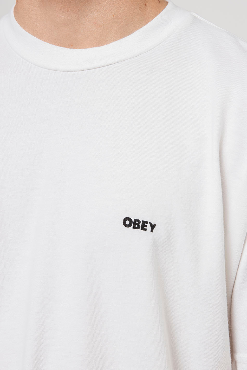 Obey Respect Your Mother White T-shirt