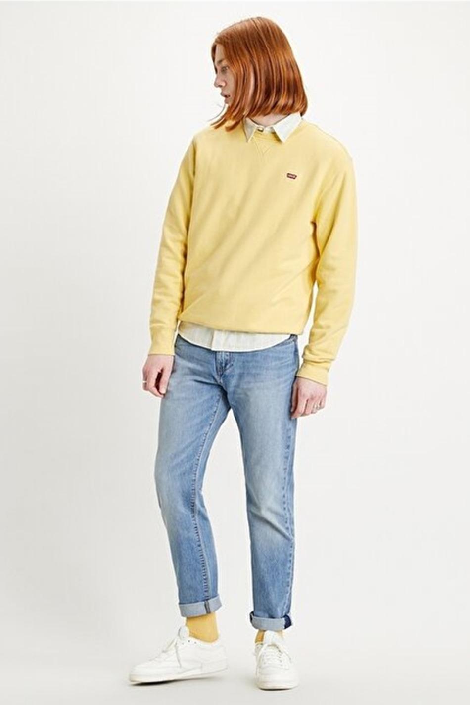 Levi's New Original Yellow Sweatshirt