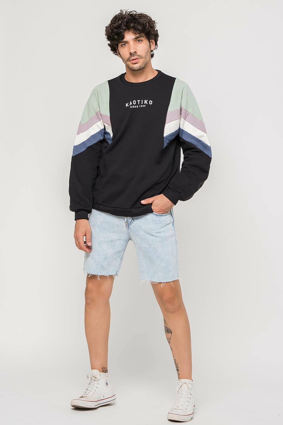 Black/Fresh Green/Lavender Seattle Sweatshirt