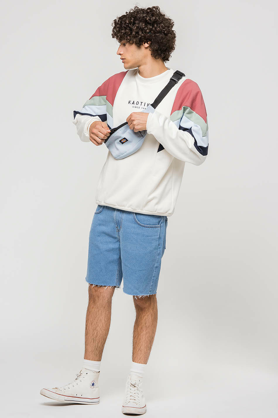 Seattle Sweatshirt Ivory / Maroon / Fresh Green
