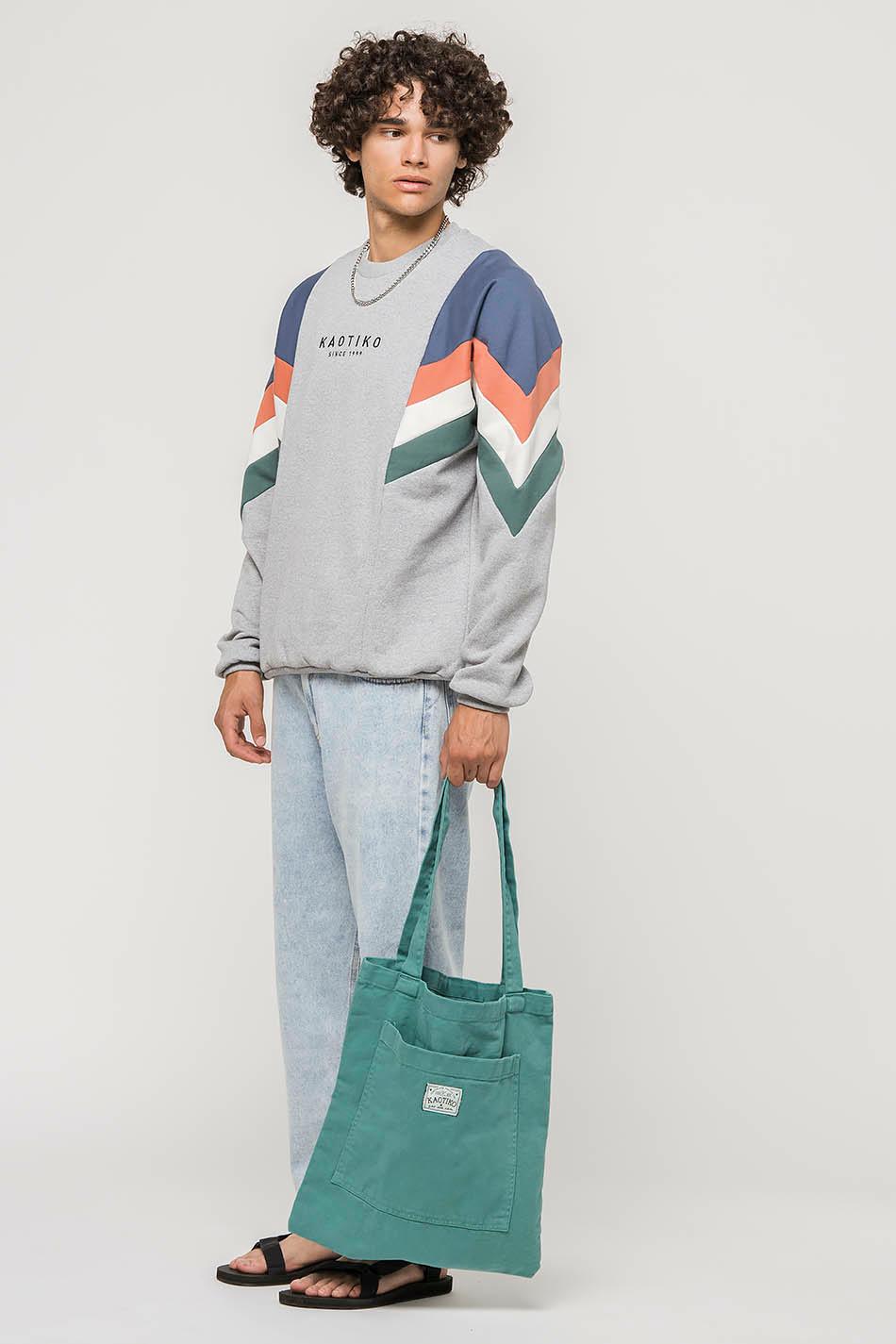 Heather Grey / Prussian Blue Seattle Sweatshirt