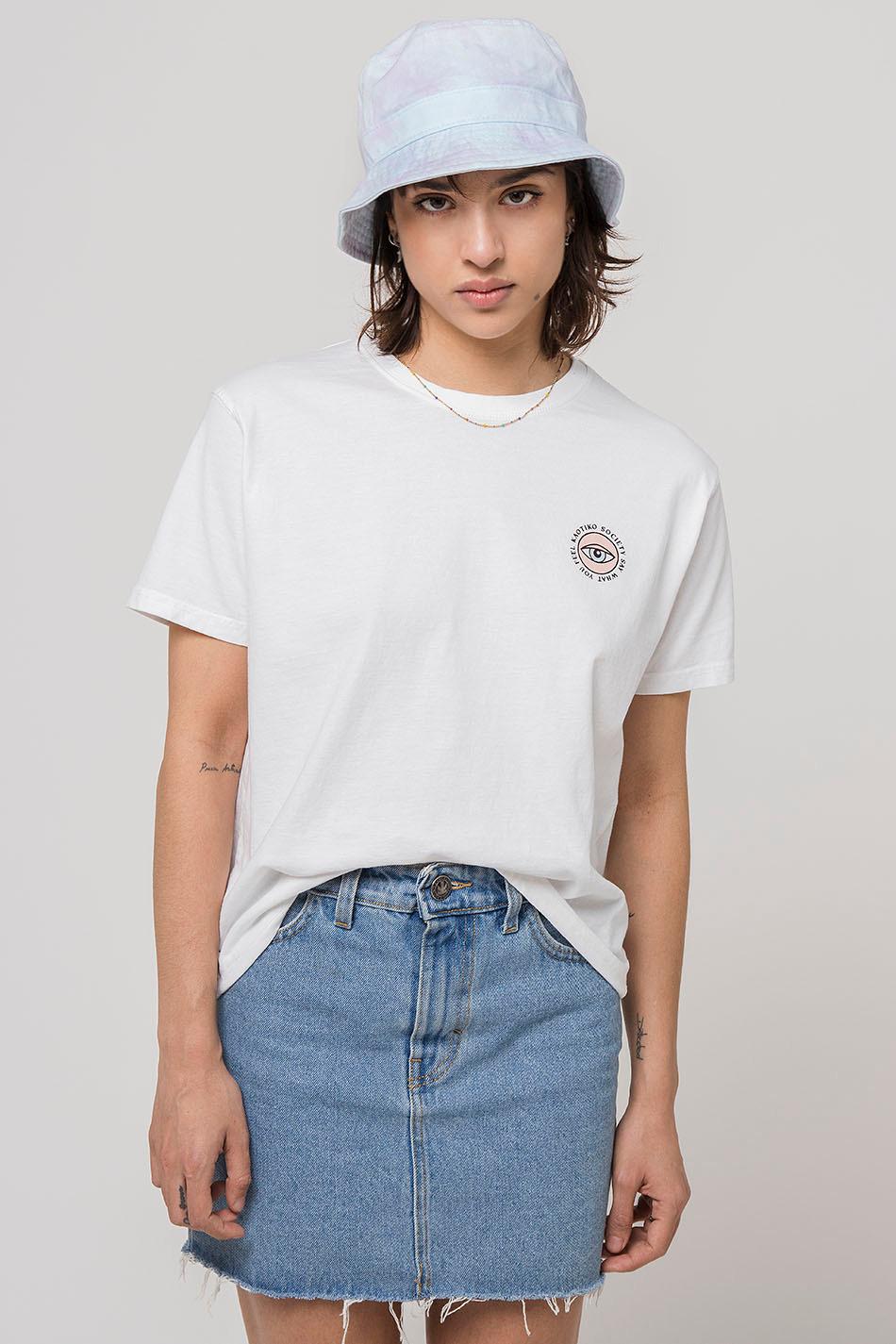 Camiseta Eye Say Blanca