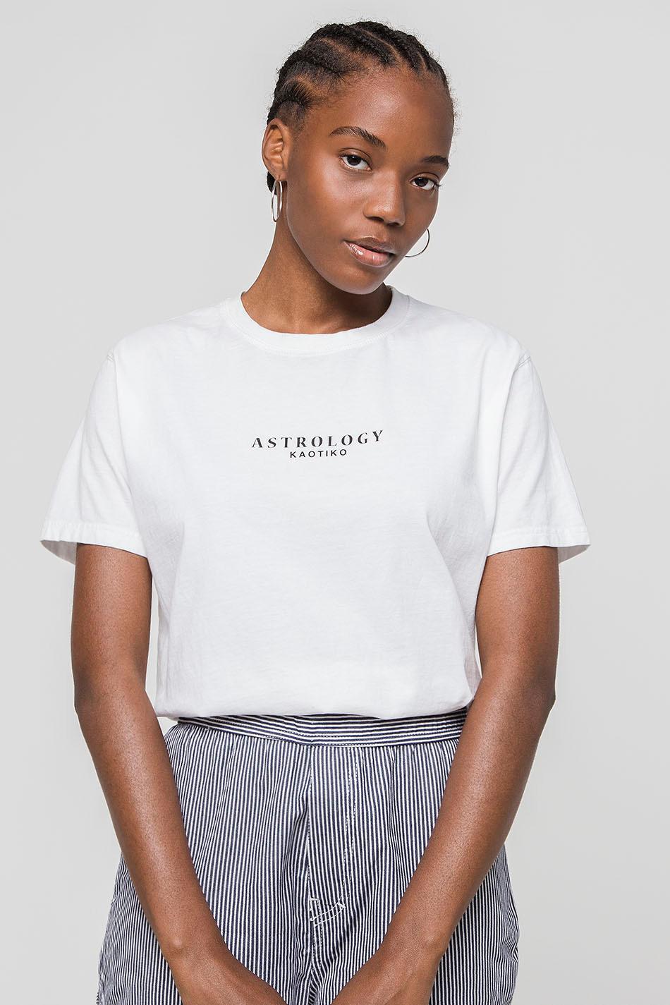 Camiseta Washed Scorpion White