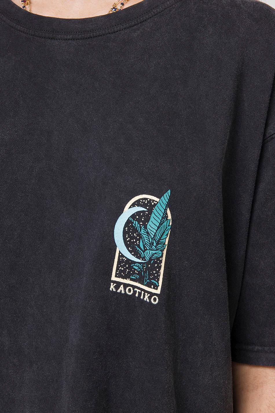 Camiseta Leopardo Washed