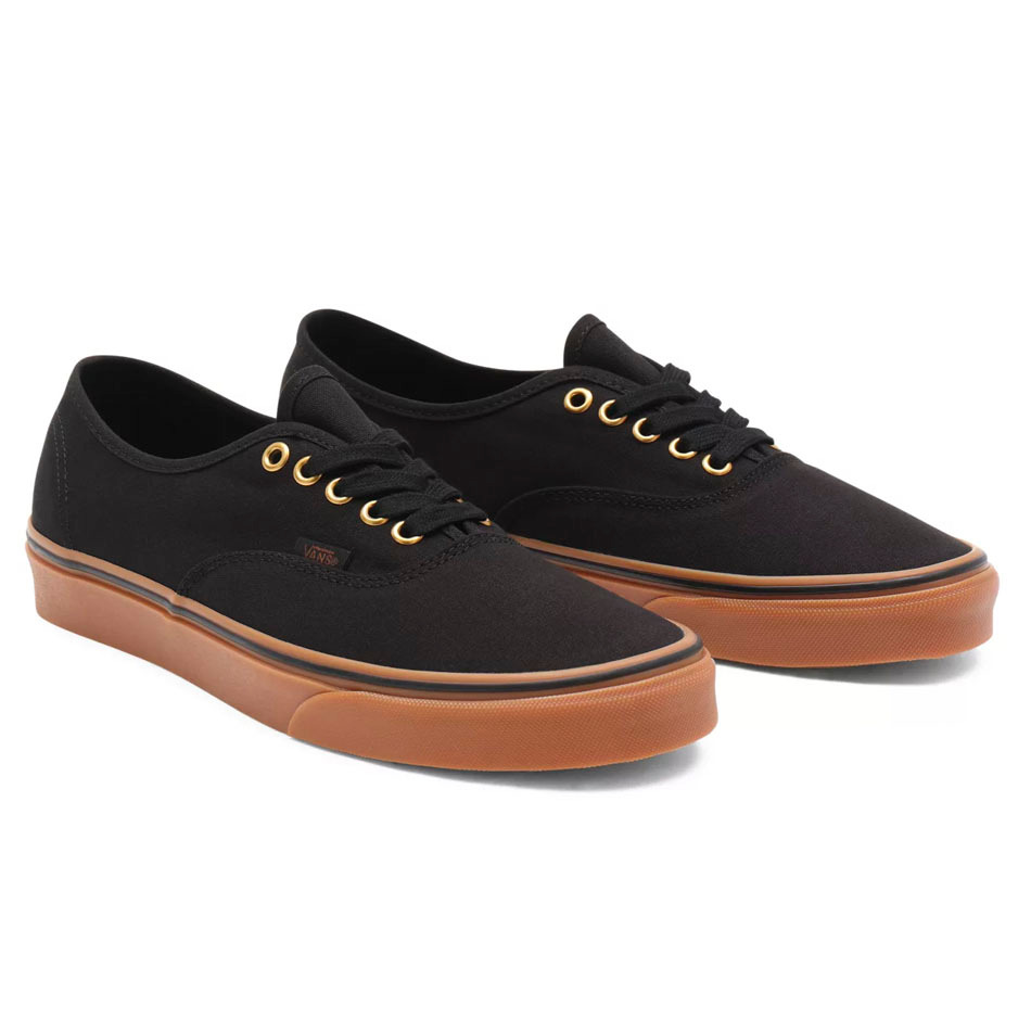 Vans Authentic Black/Rubber