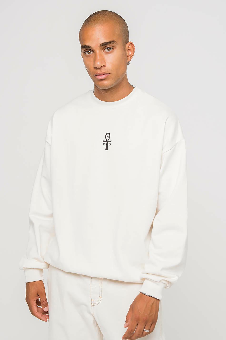 Egyptian Cat Ivory Sweatshirt