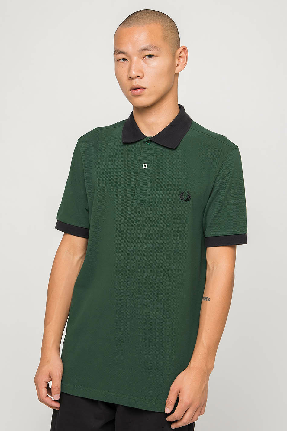 Polo Fred Perry Green / Navy