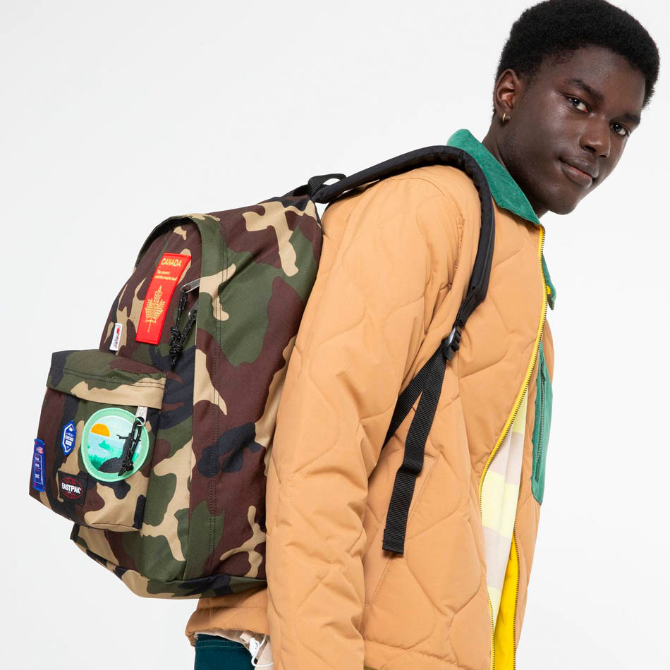 Eastpak Out of Office Patched Camo Backpack