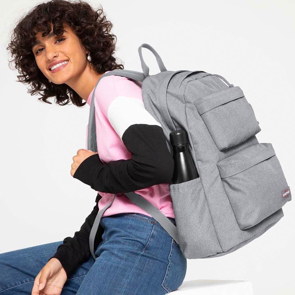 Eastpak Padded Double Grey Backpack
