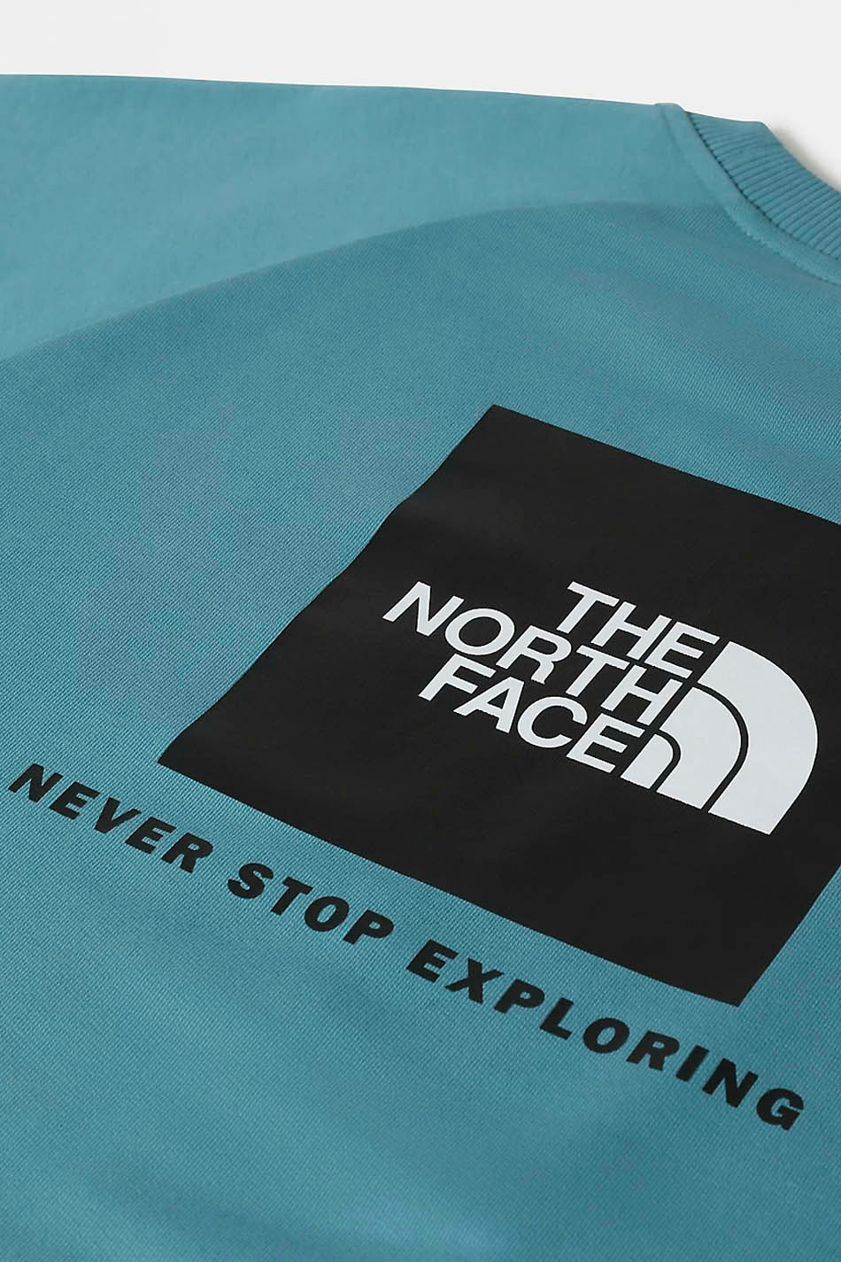 The North Face Redbox Blue Sweatshirt