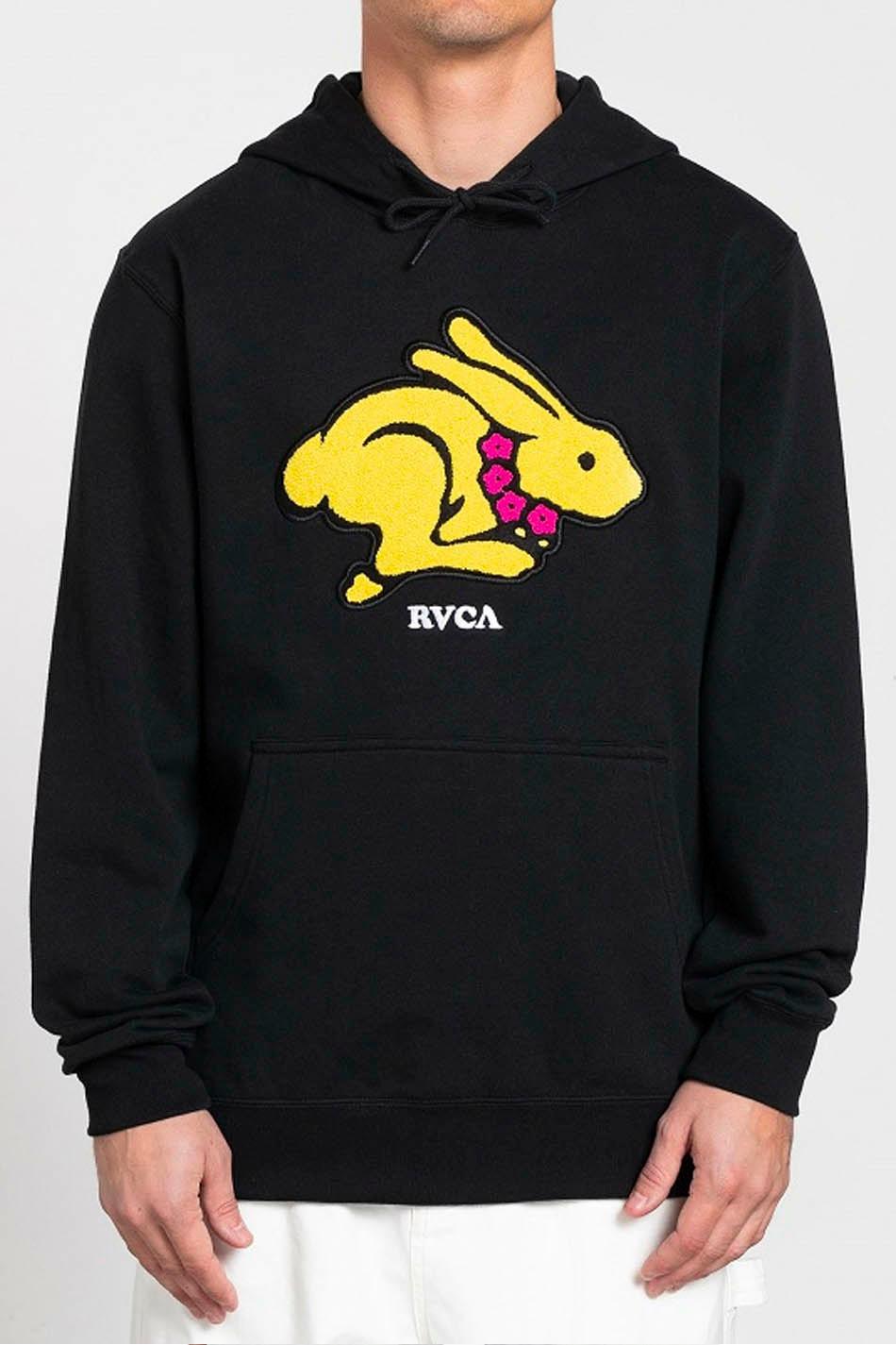 RVCA Evan Mock Rabbit Sweatshirt