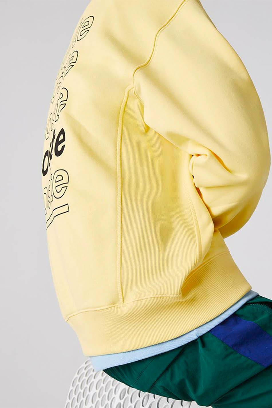 Yellow Lacoste Live Sweatshirt