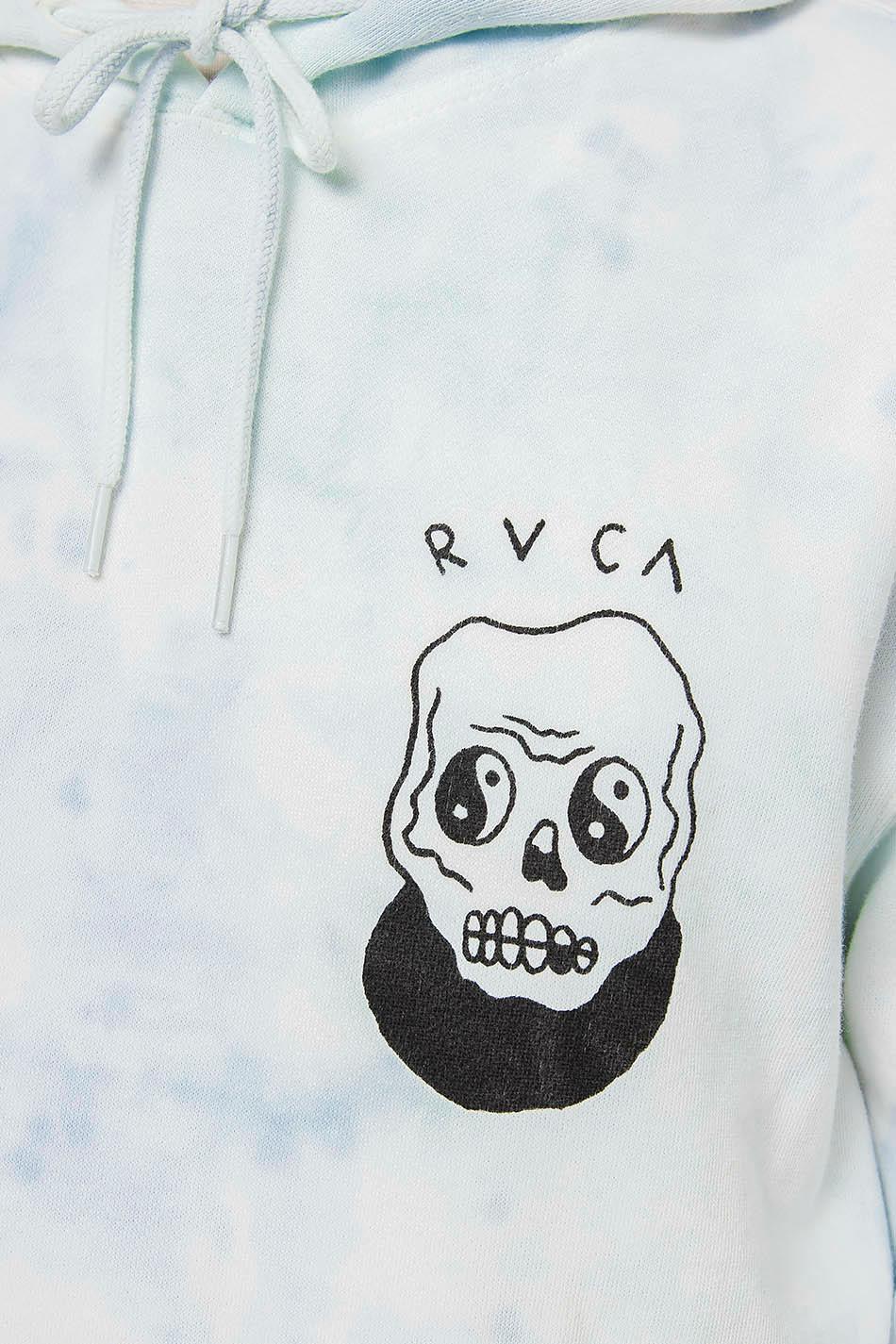 RVCA Benji Skull Blumble Tie Dye Hoodie