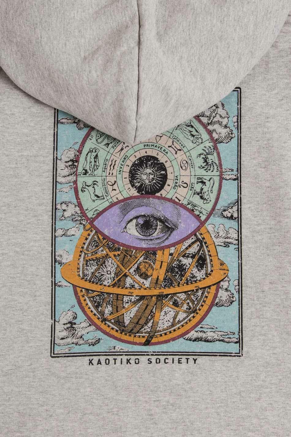 Grey Cosmos Hoodie