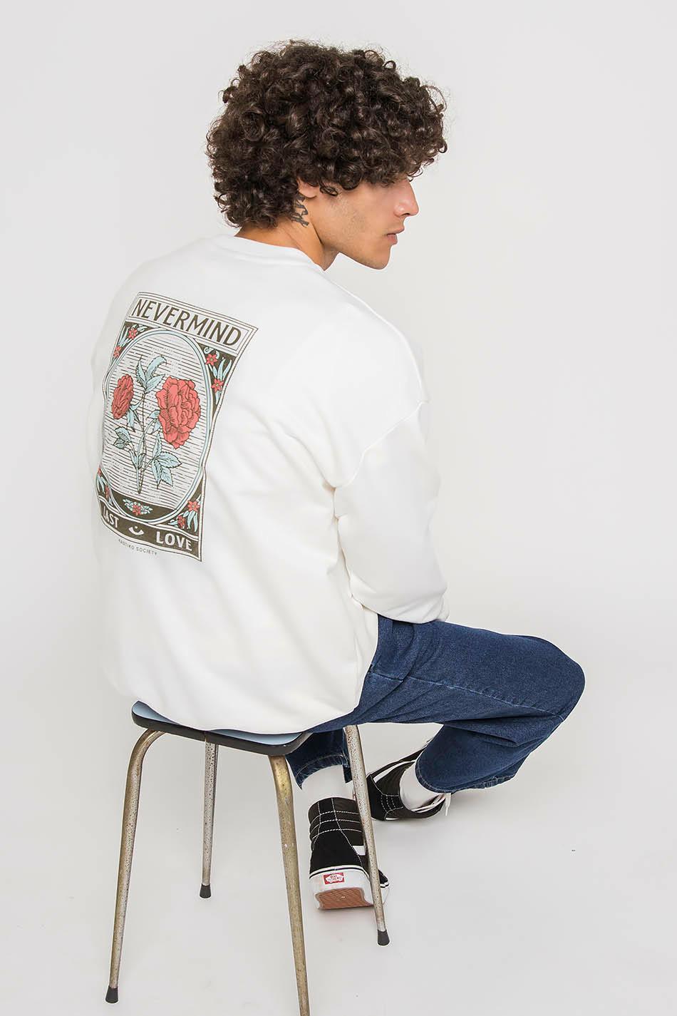Ivory Nevermind Sweatshirt