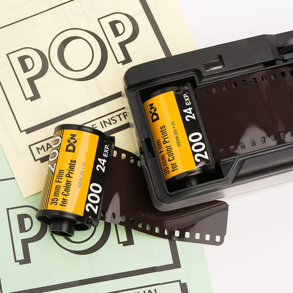 Yellow Analog POP Camera