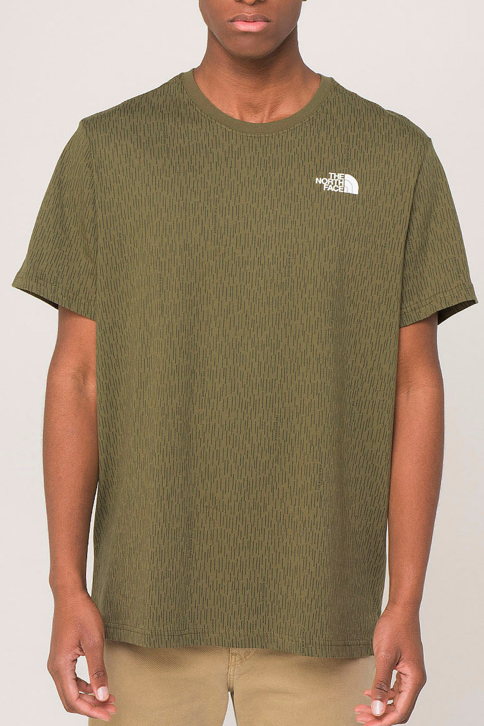 The North Face Red Box Tee Burnt Olive