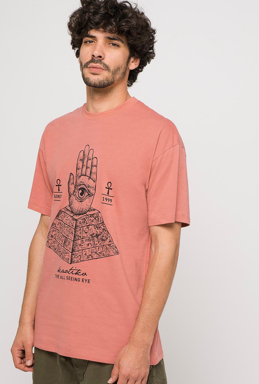 Ankh salmon t-shirt