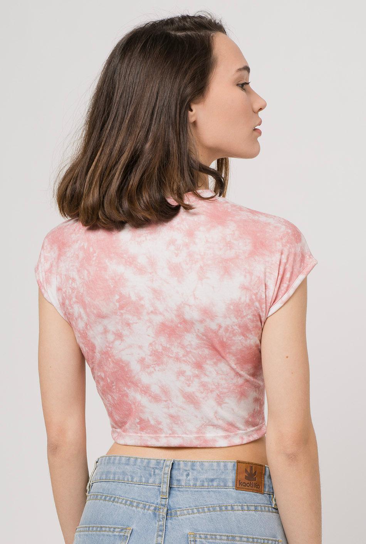 Top tie-dye rosa