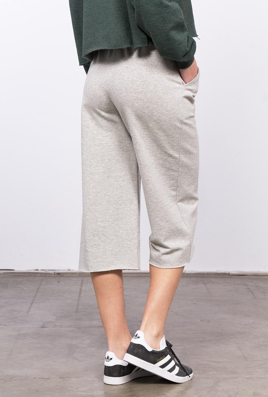 pantaló coulotte gris clar